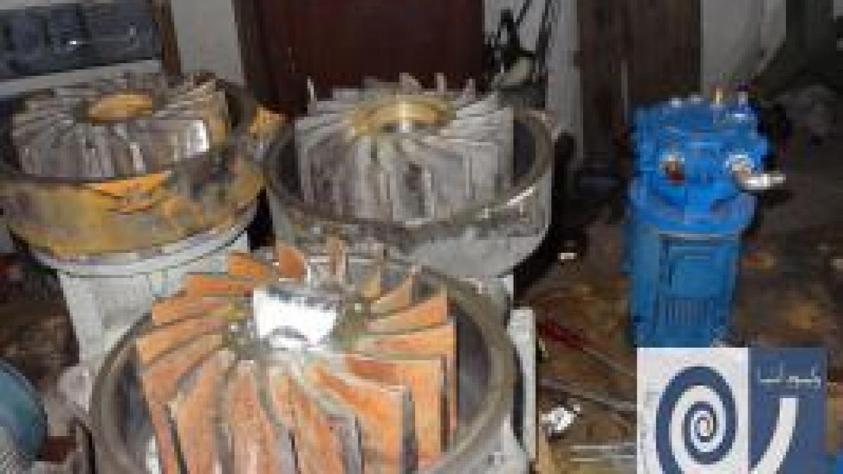 تعمیرات تخصصی پمپ وکیوم چیلرهای جذبی