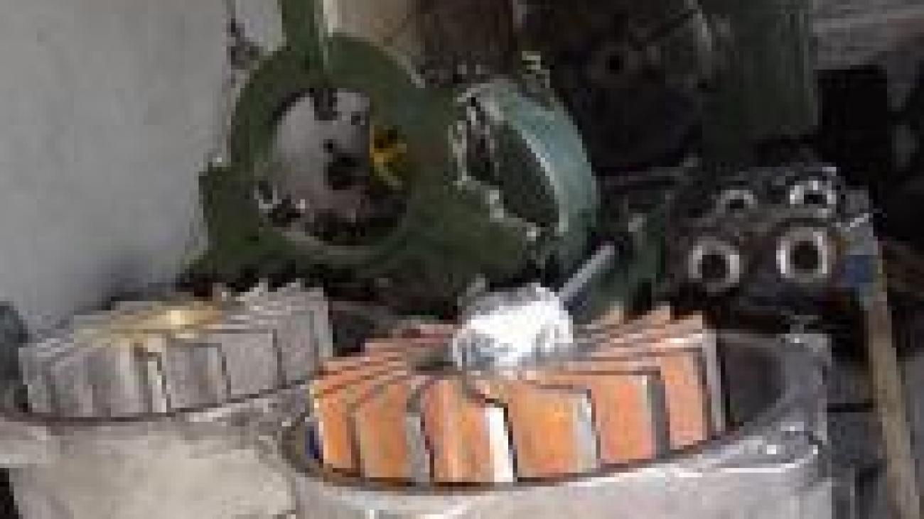 تعمیرات تخصصی پمپ های وکیوم
