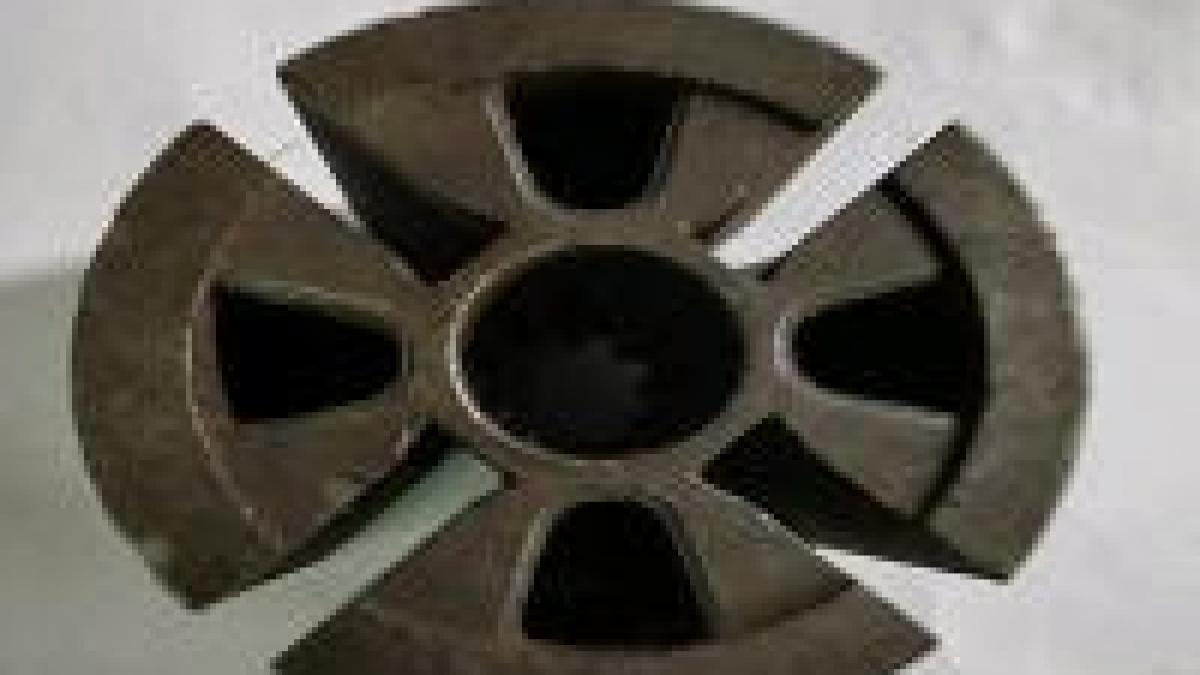 What is a rotary vane vacuum pump?
